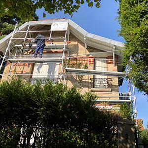 Réfection débord de toit
