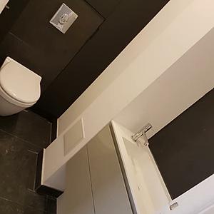 Rénovation d'un wc