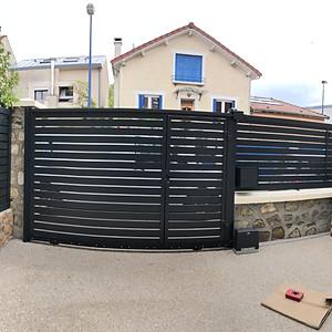 Rénovation d'une clôture et terasse