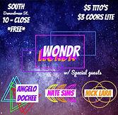 SOUTH WONDR Flyer