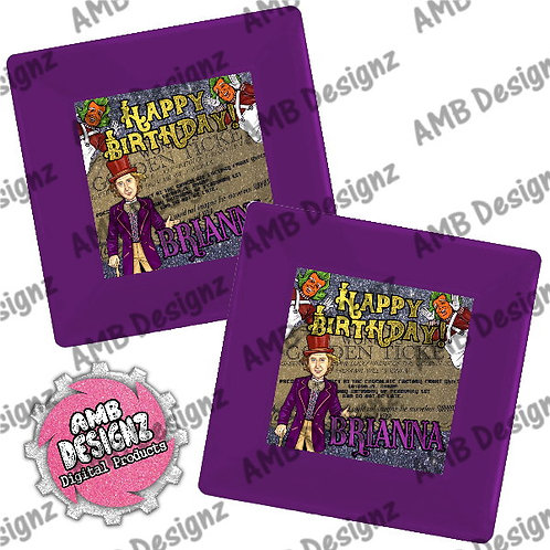 Willy Wonka Party Plates Party Supplies