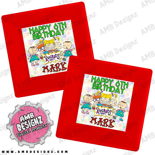 Rugrats Party Plates Personalized Party Supplies