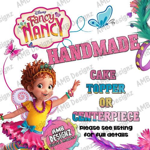 Fancy Nancy Cake Topper Party Supplies