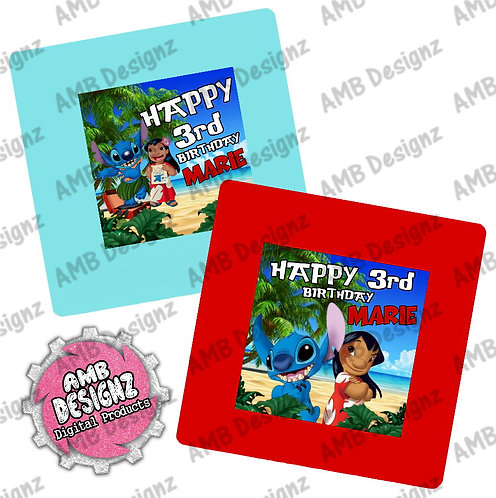 Lilo and Stitch Party Plates - Lilo and Stitch Party Supplies