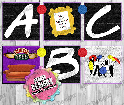 Friends Party Banner  -  Friends Party Supplies