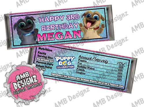 Puppy Dog Pals Bar Wrap, Puppy Dog Pals Party Supplies