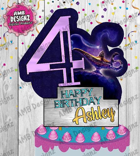 Aladdin DIY Cake Topper Centerpiece - Aladdin Party Supplies