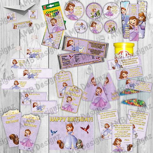 Disney's Sofia the First Party Supply Ultimate Pack