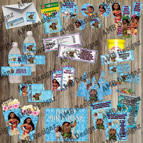 Disney's Moana Party Supply Ultimate Pack
