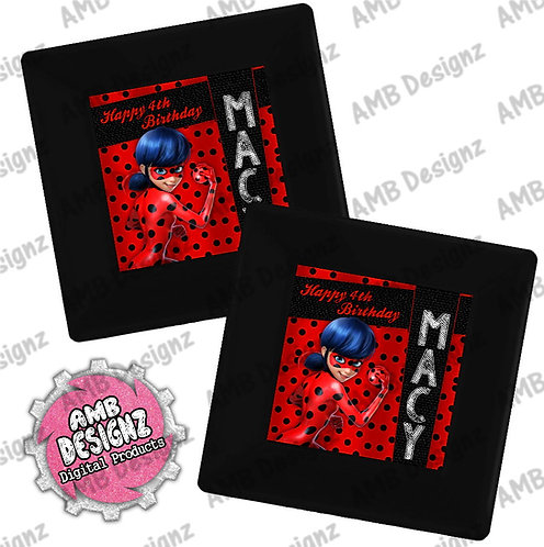 Miraculous Ladybug Party Plates - Miraculous Ladybug Party Supplies