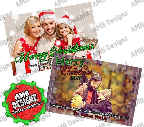 Photo Christmas Greeting Card - Photo Christmas cards