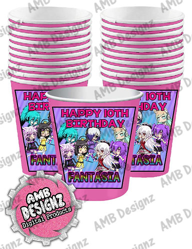 Gotcha Life Party Cups - Gotcha Life Party Supplies
