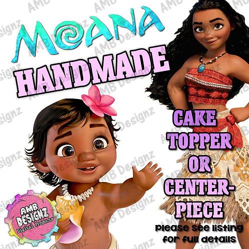 Disney's Moana Cake Topper Centerpiece