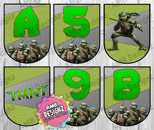 TMNT Party Banner Party Supplies