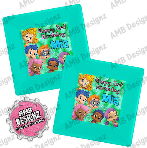 Bubble Guppies Party Plates Party Supplies