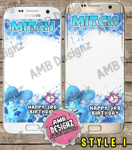 Blues Clues Snapchat Filter - Blues Clues Party Supplies