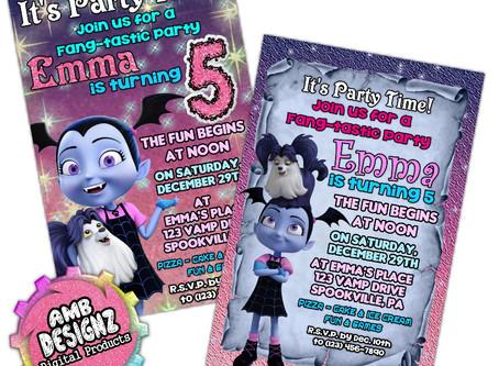 Vampirina Party Ideas