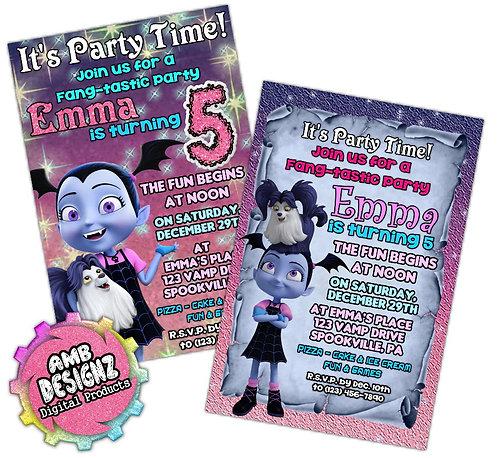 Vampirina Invitations Party Supplies