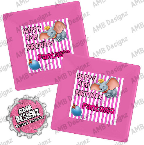 Dumbo Party Plates Party Supplies
