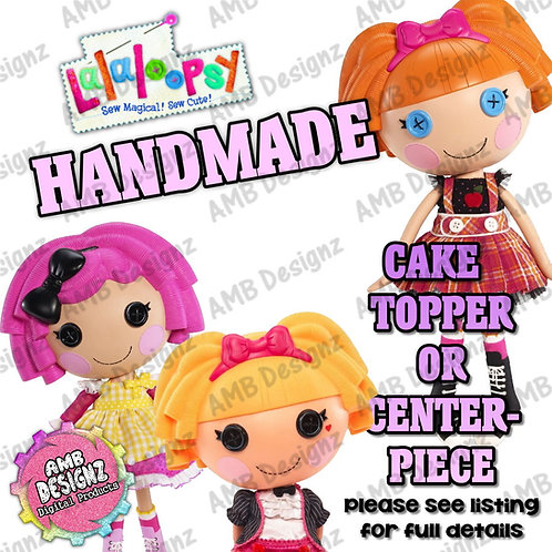 Lalaloopsy Cake Topper Centerpiece