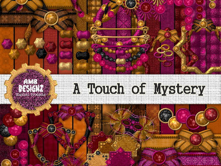 A Touch of Mystery Scrapbooking kit