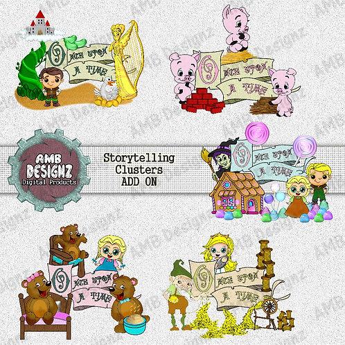 Storytelling Fairytale Cluster Pack - Storytelling Add-On