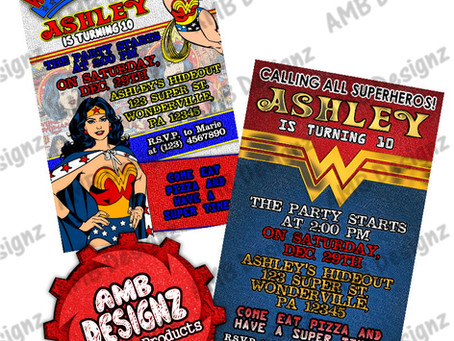 Wonder Women Birthday Party Ideas & Party Supplies!