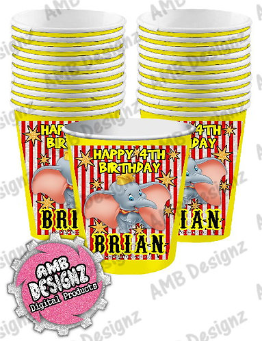 Dumbo Party Cups Party Supplies