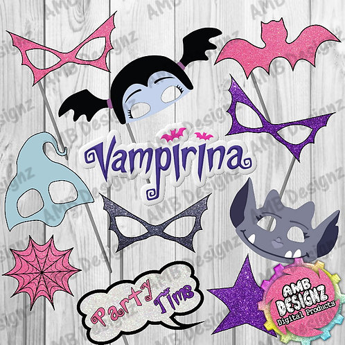 Vampirina Photo Booth Props Party Decorations Party Supplies