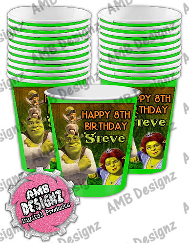 Shrek Party Cups Party Supplies