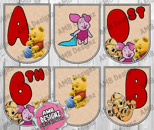 Winnie the Pooh Party Banner - Winnie the Pooh Party Supplies