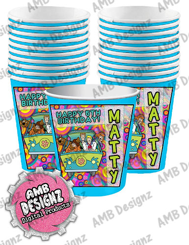 Scooby Doo Party Cups - Scooby Doo Party Supplies