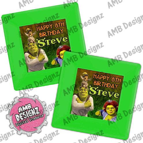 Shrek Party Plates Party Supplies