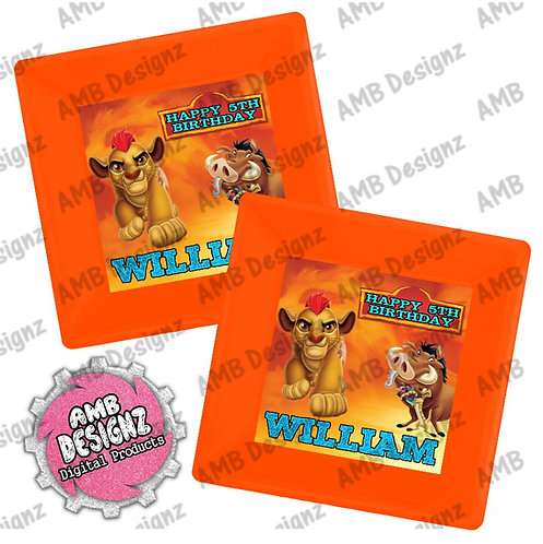 Lion Guard - Lion King Party Plates - Lion Guard - Lion King Party Supplies
