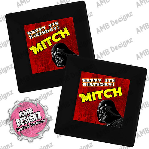 Star Wars Party Plates - Star Wars Party Supplies