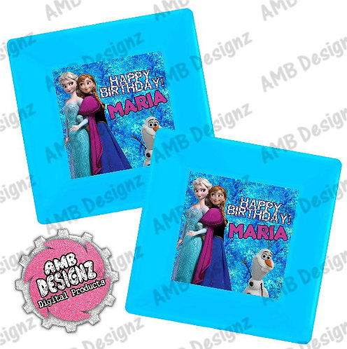 Frozen Party Plates Party Supplies
