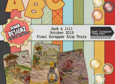 Jack & Jill - October 2019 PixelScrapper Blog Train