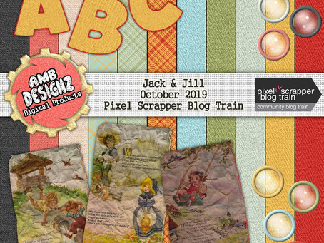 Jack & Jill - October 2019 PixelScrapper Blog Train