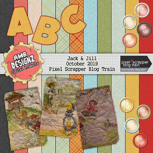 Jack & Jill Mini Scrapbooking Kit