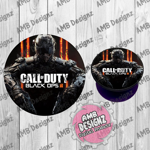 Call of Duty Phone Grip - Phone Grip Party Favor