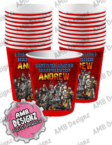 Apex Legends Party Cups - Apex Legends Party Supplies