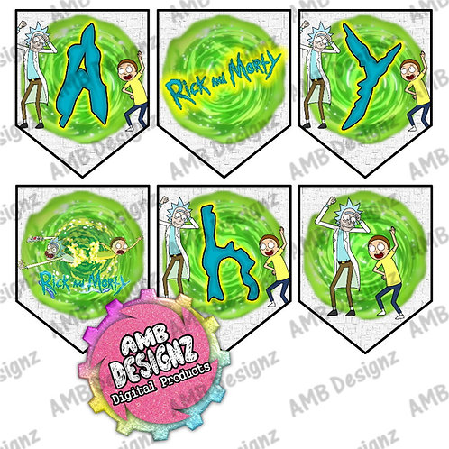 Rick and Morty Party Banner -  Rick and Morty Party Supplies