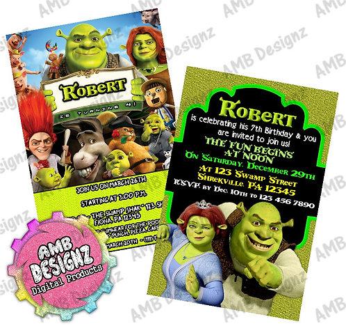 Shrek invitations Party Supplies