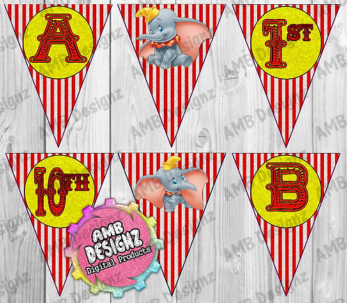 Dumbo Party Banner Party Supplies
