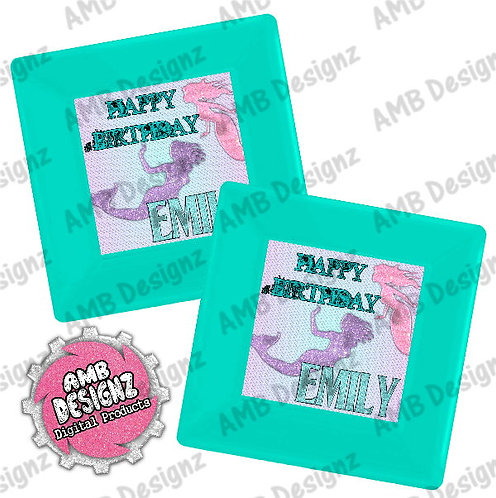 Mermaid Party Plates Party Supplies