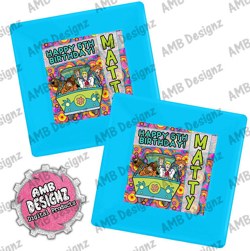 Scooby Doo Party Plates - Scooby Doo Party Supplies