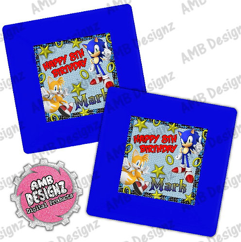 Sonic the Hedgehog Party Plates Party Supplies