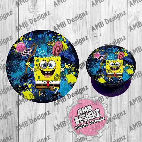 Spongebob Squarepants Phone Grip - Phone Grip Party Favor