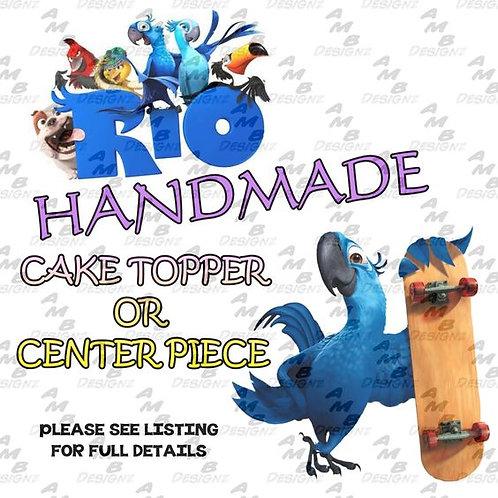Rio Cake Topper Centerpiece