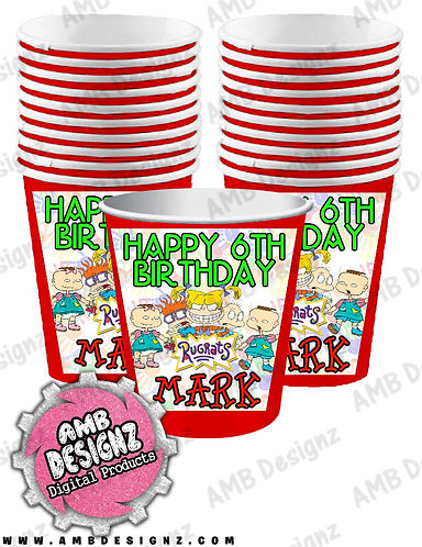 Rugrats Party Cups - Rugrats Party Supplies